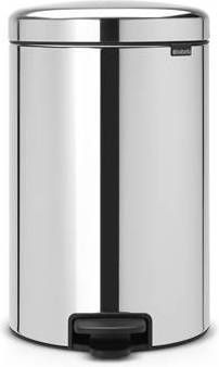 Pedaalemmer Brabantia 20 Liter.Afvalbak Met Pedaal Newicon 20 L Met Binnenemmer Van Metaal Brabantia