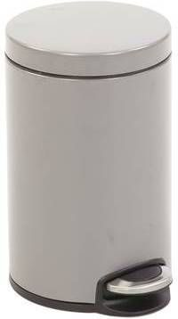 Eko Pedaalemmer 20 Liter.Serene Pedaalemmer 20 Ltr Eko Platinum Prullenbakwebshop Nl