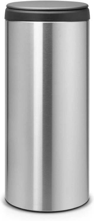 Brabantia Afvalbak 30 Liter.Brabantia Flipbin Afvalemmer 30 Liter Vingerafdrukvrij